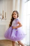 Детское нарядное платье Шарлис, цвет лаванда