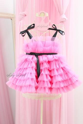 Детское нарядное платье Софи, цвет Барби