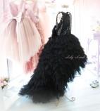 Детское платье Урсула, цвет черный