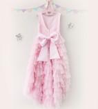 Детское платье Урсула, цвет розовый и нежно-розовый