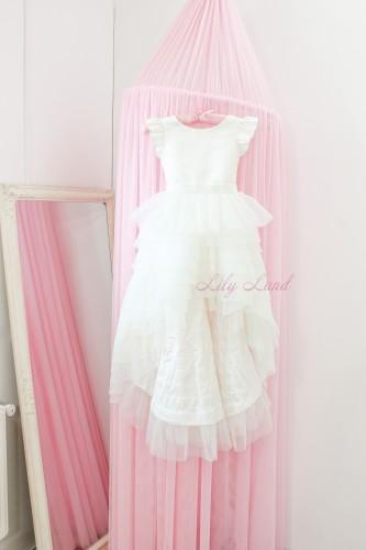Детское платье Урсула, цвет белый