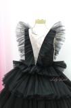 Детское нарядное платье Вероника, цвет черный