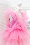 Детское нарядное платье Вероника, цвет розовый