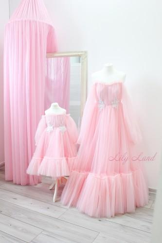 Комплект нарядных платьев Вирджиния, цвет розовый