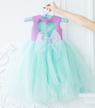 Платье Ангельское сердце, цвет лаванда и мята