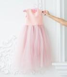 Платье Ангельское сердце, цвет нежно розовый