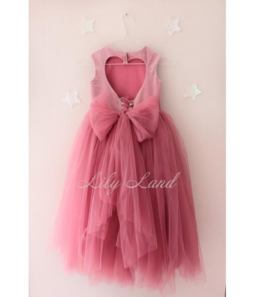 Платье Ангельское сердце, цвет чайная роза
