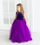 Платье Ангельское сердце, цвет фиолетовый