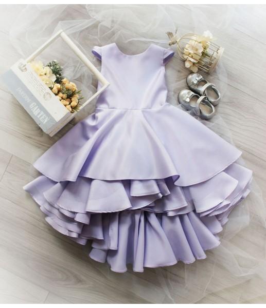 Детское платье Аврора, цвет лаванда