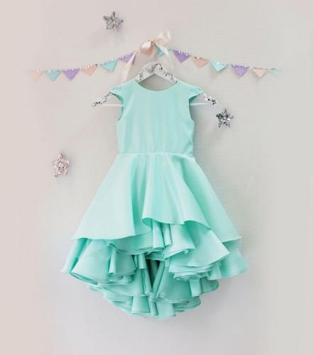 Детское платье Аврора, цвет мята