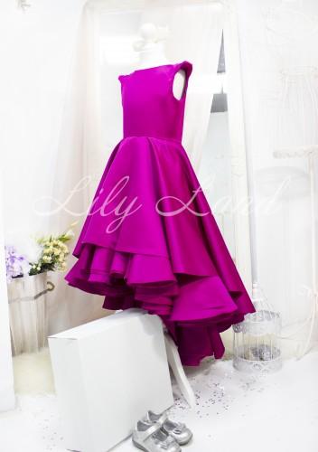 Детское платье Аврора, цвет фуксия