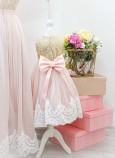 Комплект платьев Амели, цвет золото и розовая пудра