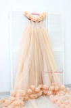 Женское платье Ева, цвет беж