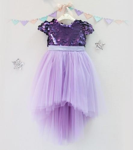 Детское платье Фатиновый рай, цвет лаванда
