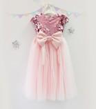Детское платье Фатиновый рай, цвет розовый