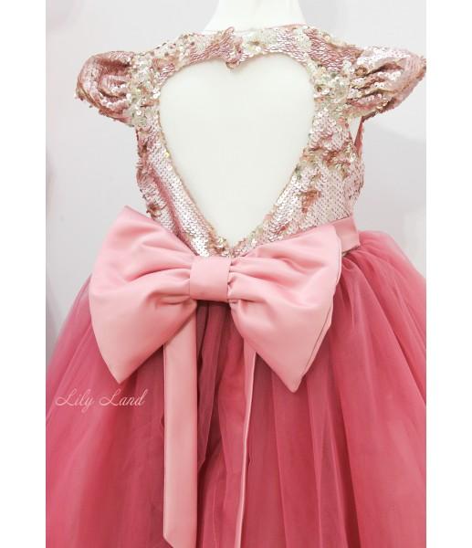 Комплект платьев Фатиновый рай, цвет чайная роза