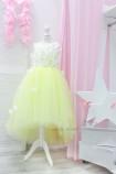 Детское платье Флер, цвет светло - желтый