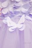 Детское платье Флер,цвет лаванда бабочки лаванда