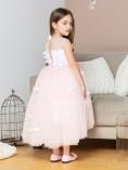 Детское платье Флер, цвет пудрово розовый