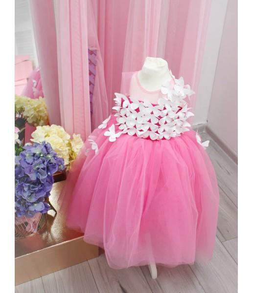 Детское платье Флер,цвет барби