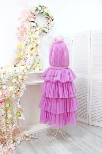 Детское платье Кристалл, цвет фиолет