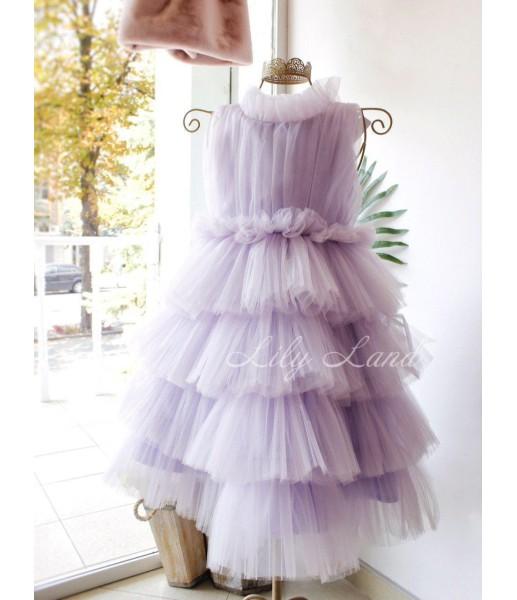 Детское платье Кристалл, цвет лаванда