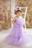Детское платье Лябель, цвет лаванда