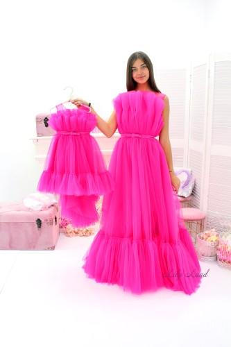 Комплект нарядных платьев Лябель,  цвет Барби