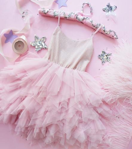 Детское платье Lily Dress, цвет розовый
