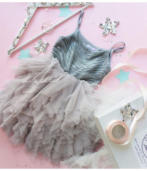 Детское платье Lily Dress, цвет шампань