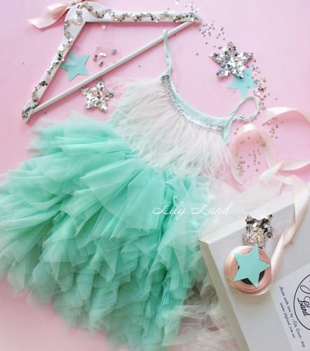 Детское платье Lily Dress, цвет мята