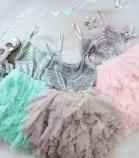 Детское платье Lily Dress, в цвете розовый