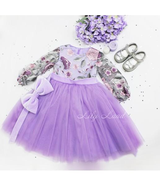 Детское платье Мэри, цвет лаванда