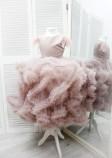 Детское нарядное платье Облако, цвет шампань
