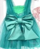 Детское платье Синдерелла, цвет зеленый