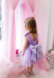 Детское платье Синдерелла, цвет лавандовый