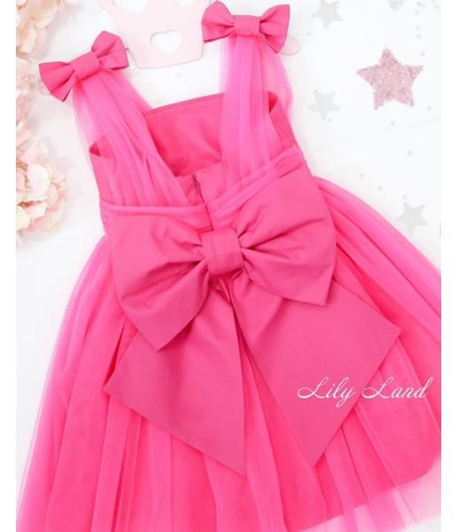 Детское платье Синдерелла, цвет малина