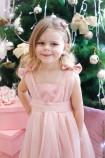 Детское платье Синдерелла, цвет персик