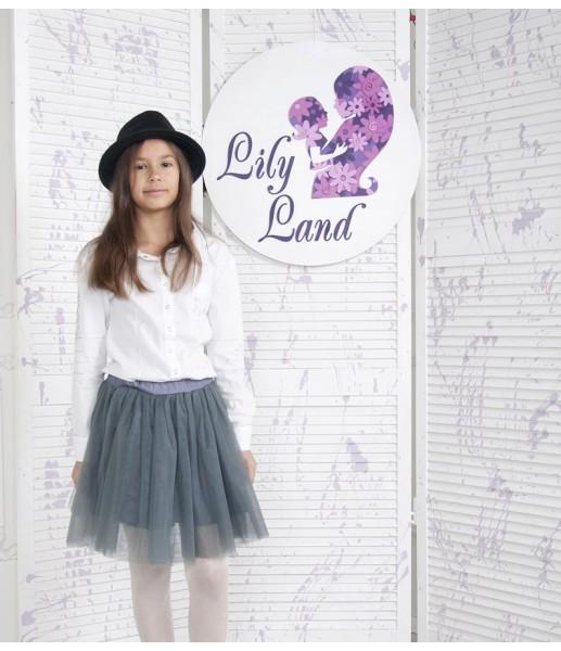 Комплект фатиновых юбок, цвет графит