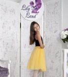 Комплект фатиновых юбок, цвет желтый
