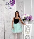 Фатиновая юбка для дочки, цвет мята