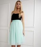 Фатиновая юбка для мамы, цвет мята