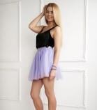Комплект фатиновых юбок, цвет лаванда