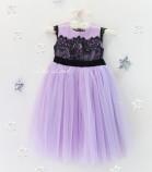 Детское платье Винтажное кружево, цвет лаванда